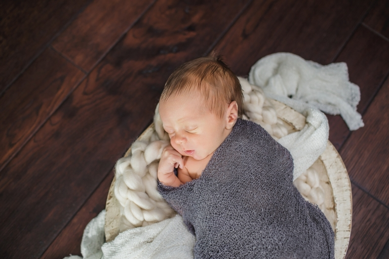 South Tampa Newborn in Home Lifestyle session